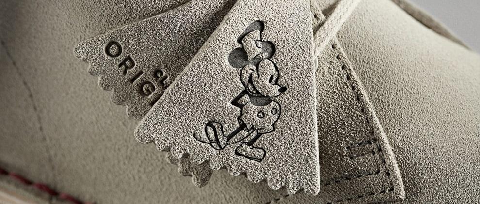 90 zum Micky – wird Maus gibt's Schuhe von Clarks Geburtstag Lq354jRA