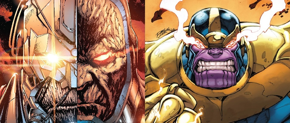 thanos vs. darkseid
