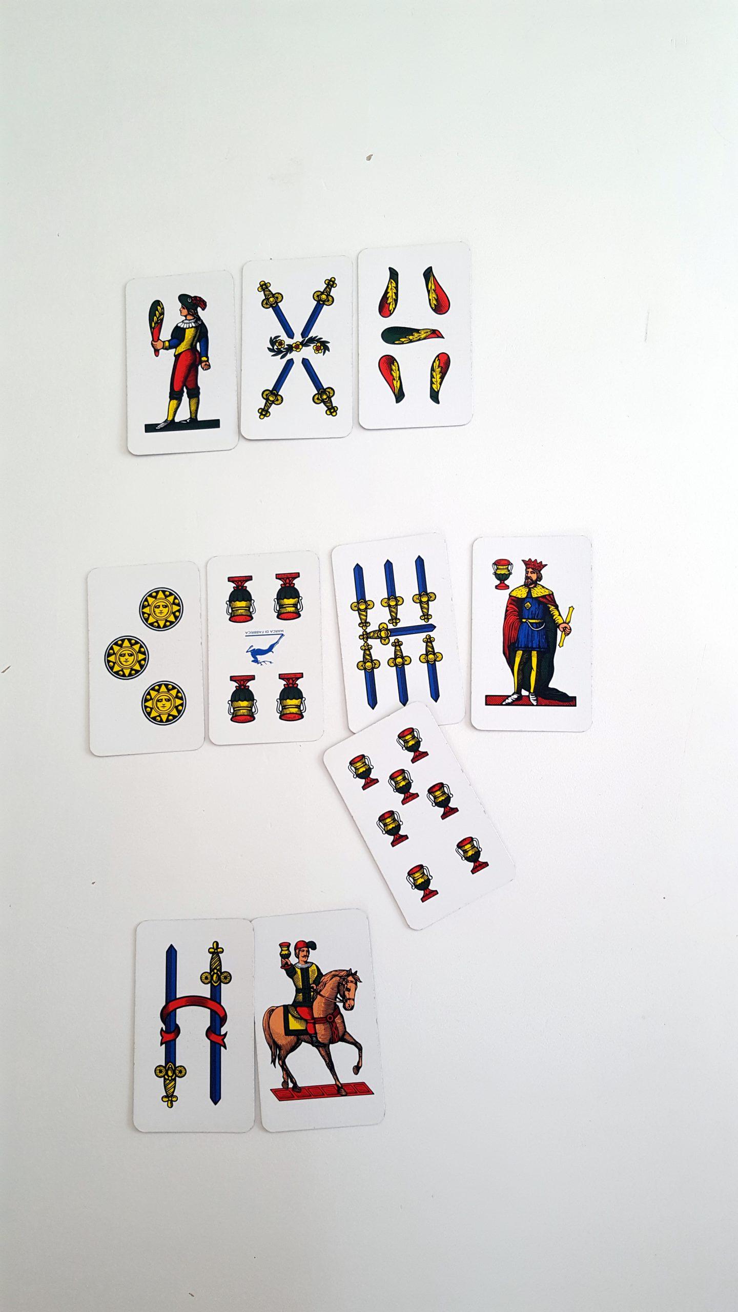 Scopa Spielregeln